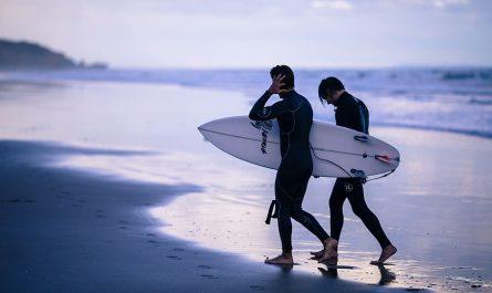 surfer en Asie