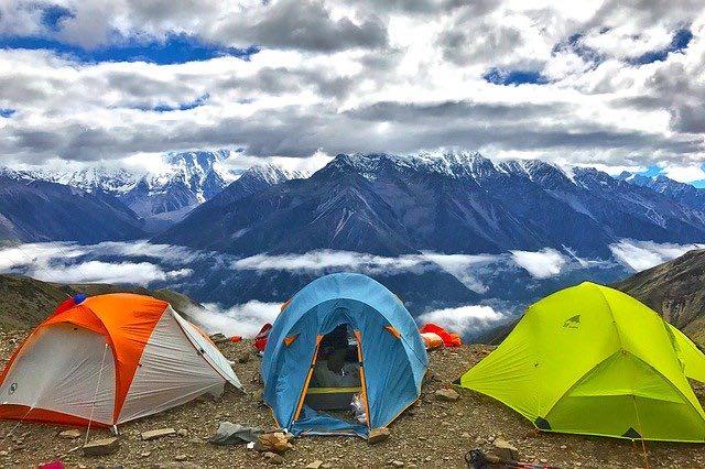 vacances sous tente