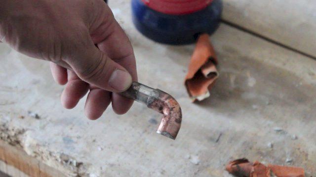 Réparer les canalisations en cas de fuite