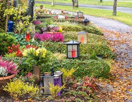 Significations des bougies funéraires