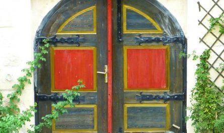 porte bois peinture